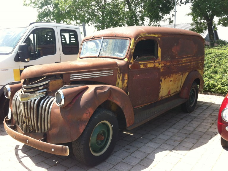 Import Chevrolet Panelvan 1946