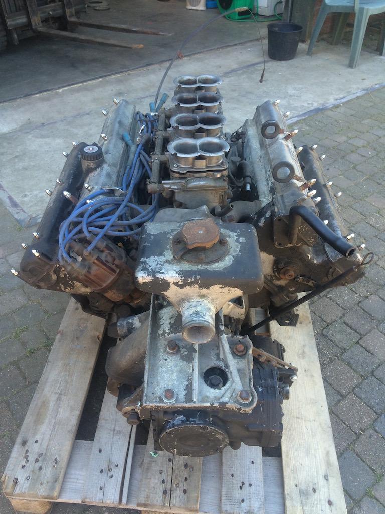Restoration Maserati V8