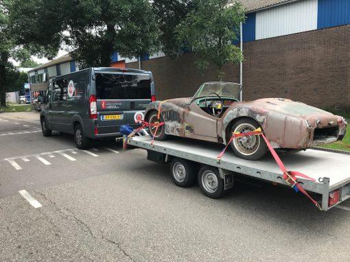 Import Triumph TR2 1955